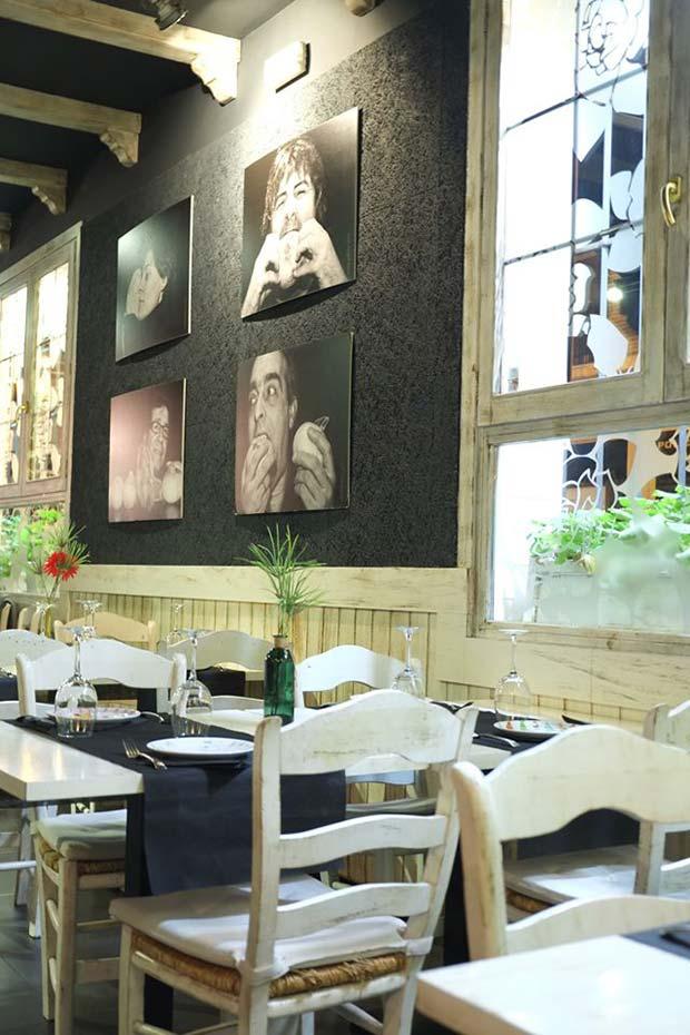 comedor del restaurante contigo pan y cebolla