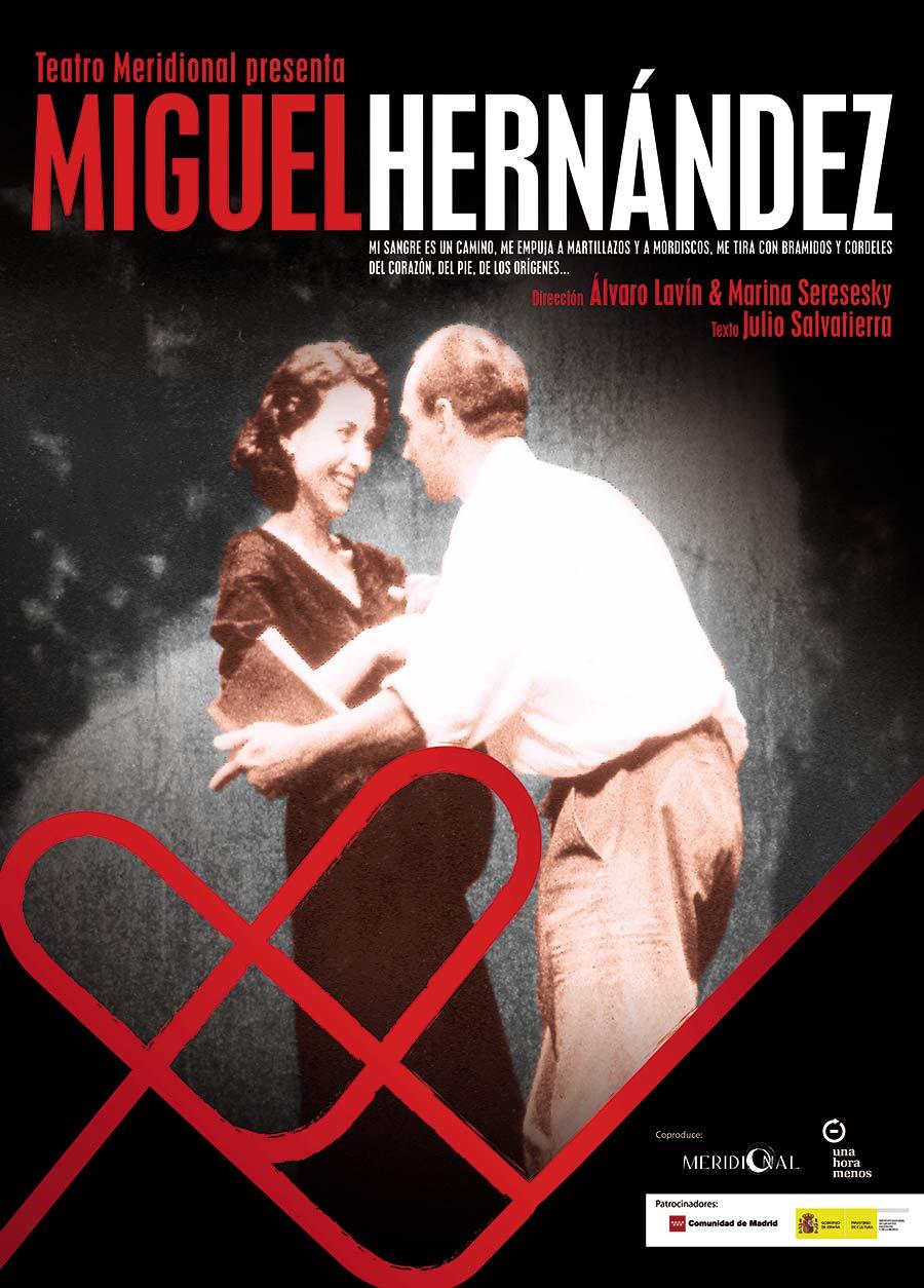 """Cartel de """"Miguel Hernández"""" de Meridional Producciones"""