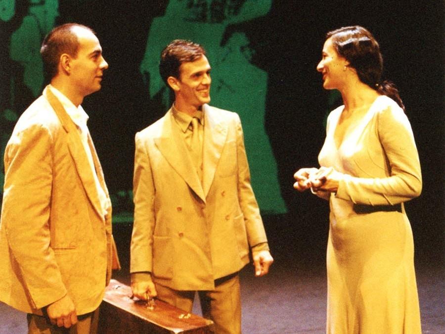 """Representación de la obra """"Miguel Hernández"""" de Producciones Meridional en el Teatro de las Esquinas"""