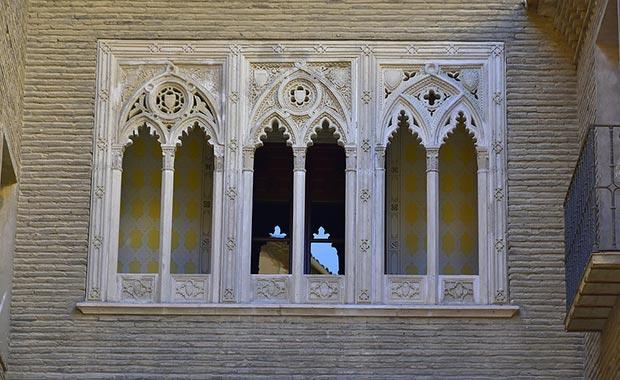 Decoración del Arco del Dean de Zaragoza