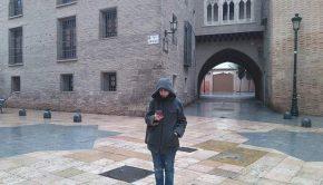 Arco del Deán en Zaragoza