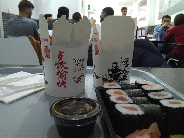 Bo Wok restaurante asiático