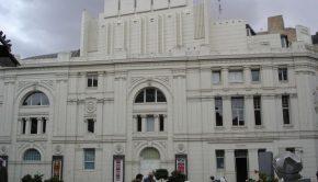 El Teatro Principal de Zaragoza visto desde la Plaza Sinués