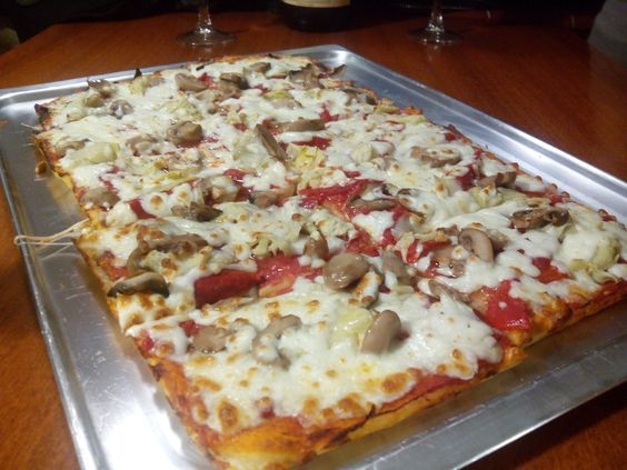 Pizza Napolitana en Casa Eusebio
