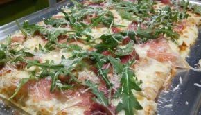 Pizza Rosaria en Casa Eusebio
