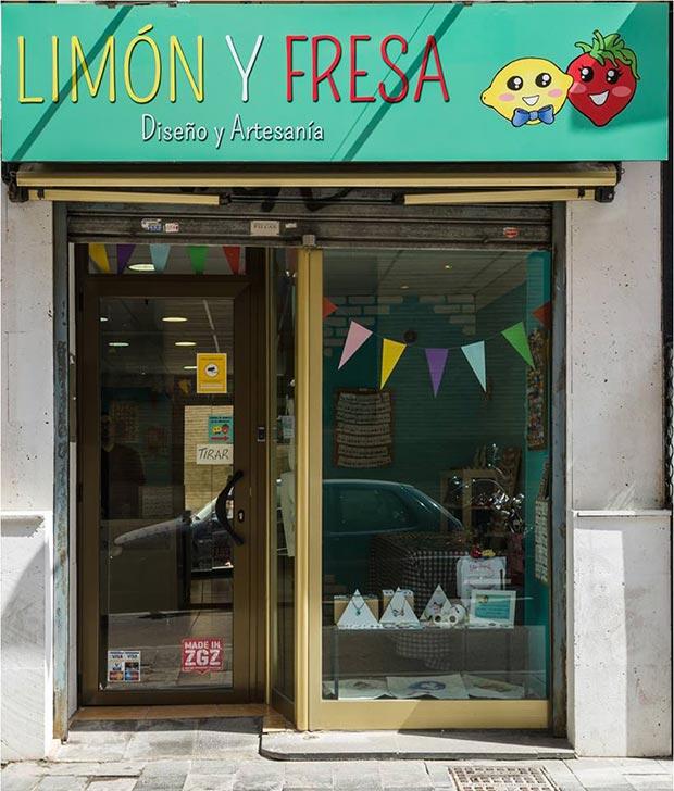 Limón y Fresa, bisutería y complementos