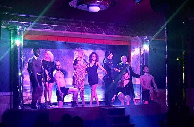 el plata cabaret espectáculo
