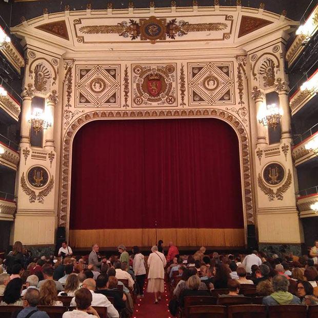 Teatro Principal de Zaragoza, Escenario