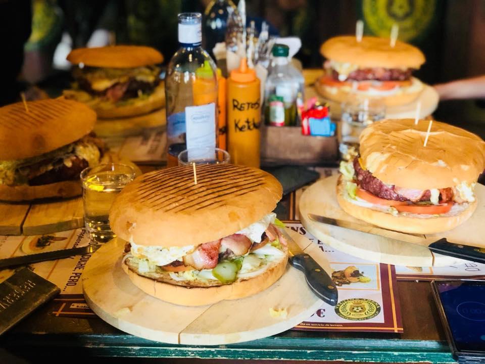 hamburguesas en el veltins arena