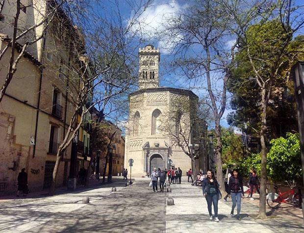 La antigua Puerta de Valencia