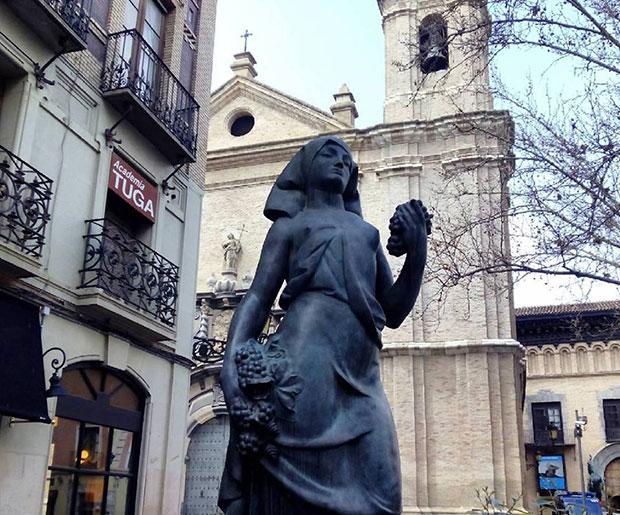 "La escultura ""La Vendimiadora"" (1928) de Pablo Gargallo"