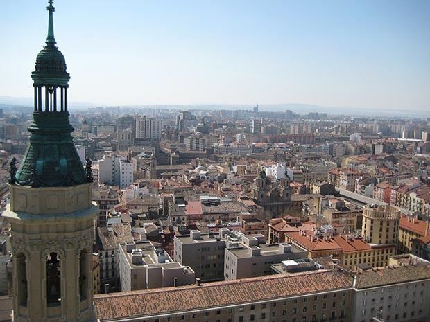 Mirador de la Torre San Francisco de Borja (una de las cuatro torres de la Basílica de Pilar)