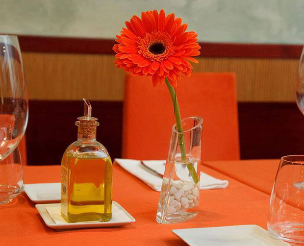 Decoración del Restaurante Goralai de Zaragoza