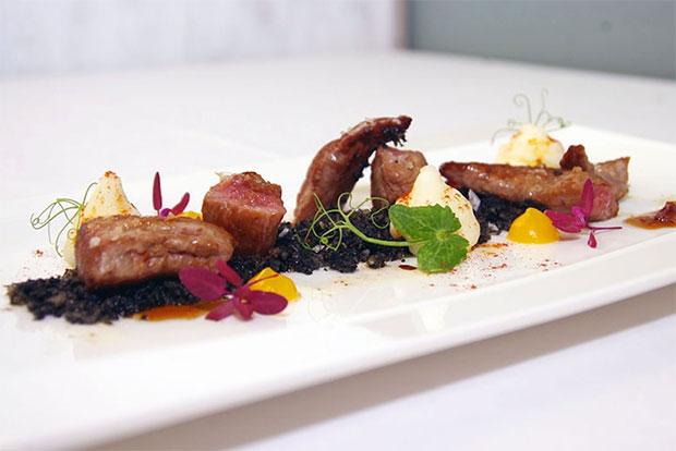 Cocina del Restaurante La Prensa