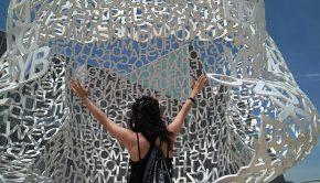 El Alma del Ebro de Jaume Plensa en Zaragoza