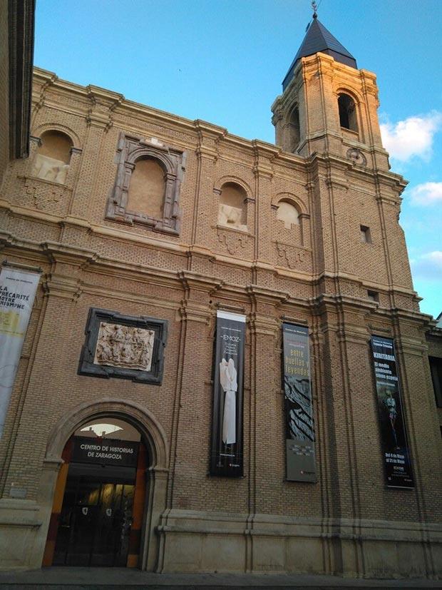 Exterior del Centro de Historias de Zaragoza