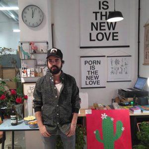 Gonzalo Ínigo es un multidisciplinar creador zaragozano y el impulsor de Horst