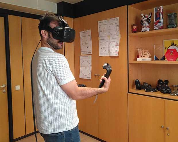 Empuñar una espada láser o el martillo del mismísimo Thor ya es posible gracias a la realidad virtual desarrollada por Imascono