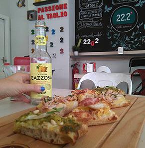 22.2 Gradi Pizza al Taglio Pizzas al corte