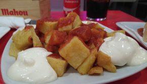 Patatas Bravas en el Bocatart