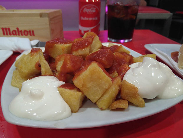 Bocatart, Ración de Patatas Bravas