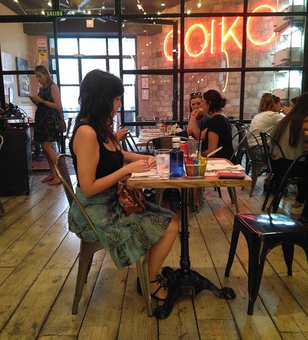 Vista del Comedor del Goiko Grill de Zaragoza
