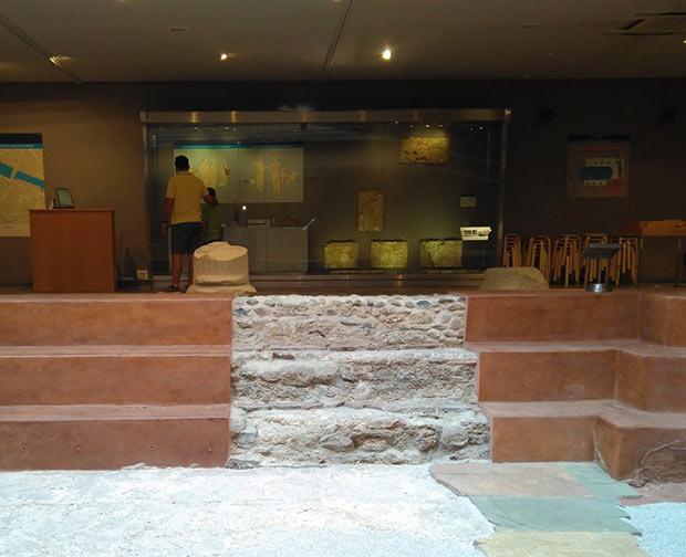 Museo de las Termas Públicas de Caesaraugusta, Piscina Termal de la Época Romana