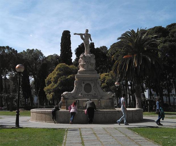 Fuente de Neptuno de Zaragoza