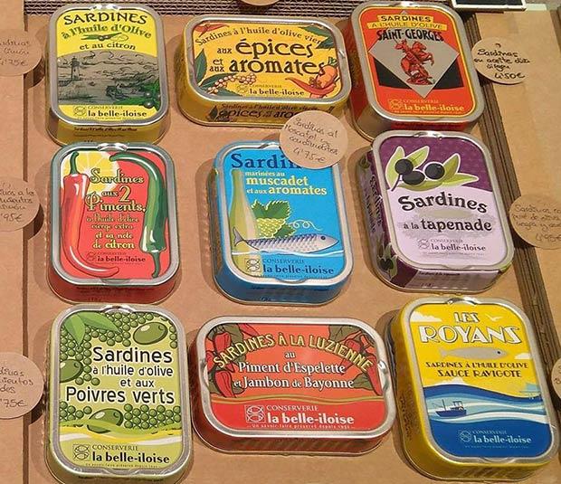 Latas de sardinas de Latastienda