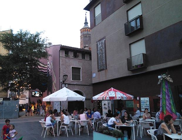 Exterior del restaurante Las Armas