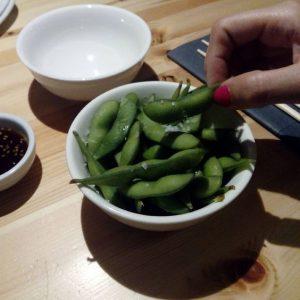 Emadames (judías de soja japonesas)