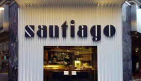 Cafetería Santiago, un clásico en la Plaza del Pilar