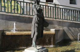 Glorieta de La Balsera en la avenida san josé