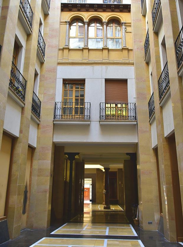 Pasaje de los Giles en Zaragoza