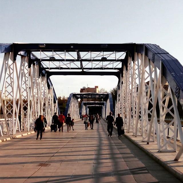 Puente de Hierro Zaragoza
