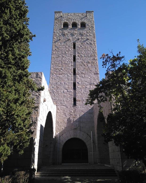 Vista de la Torre de la Iglesia de San Antonio de Padua