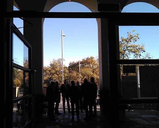El Paseo Isabel la Católica visto desde la Cámara de Comercio de Zaragoza