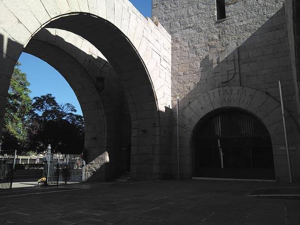 patio de la iglesia de san antonio de zaragoza