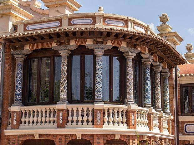 Decoración de la Casa Solans de Zaragoza