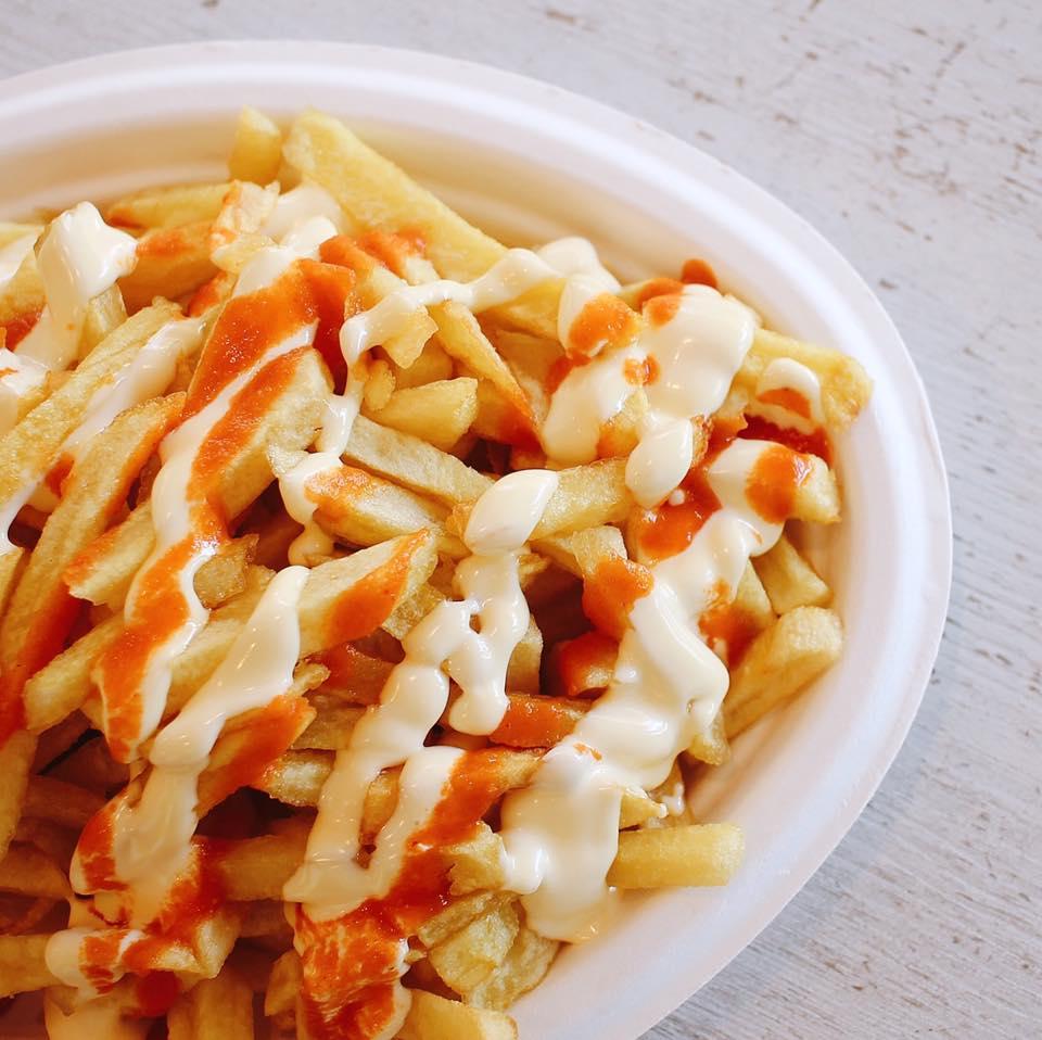 hamburgueseria cebrian actur patatas fritas