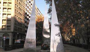 Monumento a la Constitución Española de 1978 en Zaragoza
