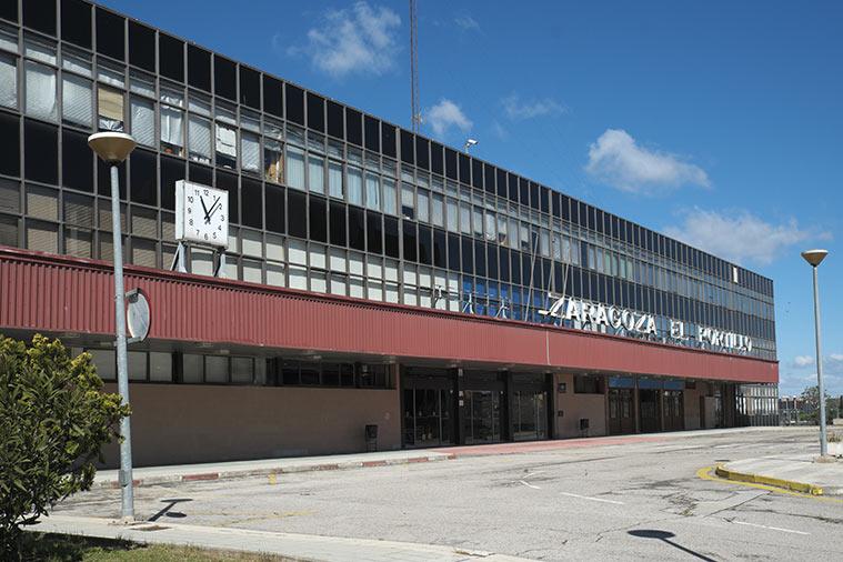 Antigua Estacion del Portillo en Zaragoza