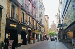 Calle Cinco de Marzo de Zaragoza