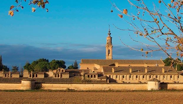 Cartuja de Aula Dei en Zaragoza