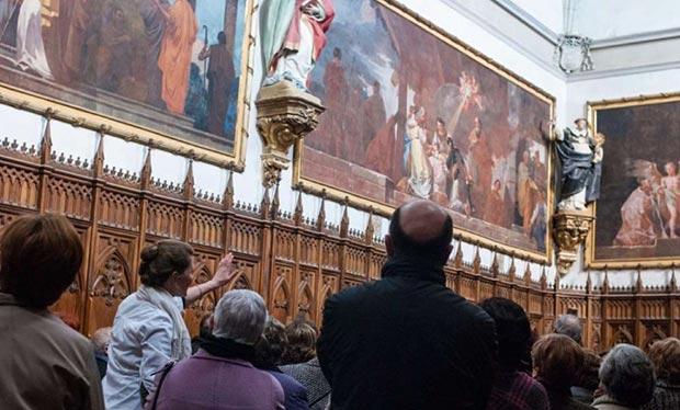 Cartuja de Aula Dei pinturas de Goya