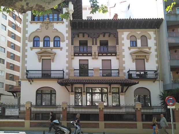 Casa Mantecon Paseo Sagasta Zaragoza