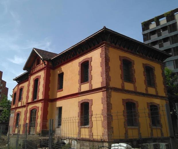 Casa del Director de la Azucarera del Rabal de Zaragoza