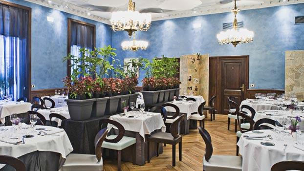 Comedor del Restaurante El Principal Zaragoza