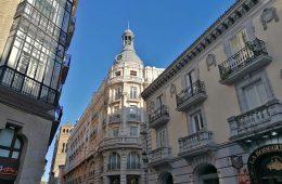 Edificio de Ibercaja en la Calle San Jorge