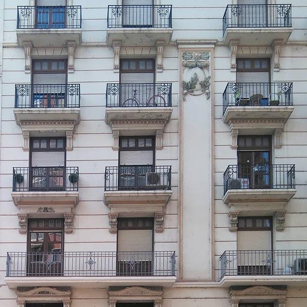 Edificio del Coso nº 107 Zaragoza